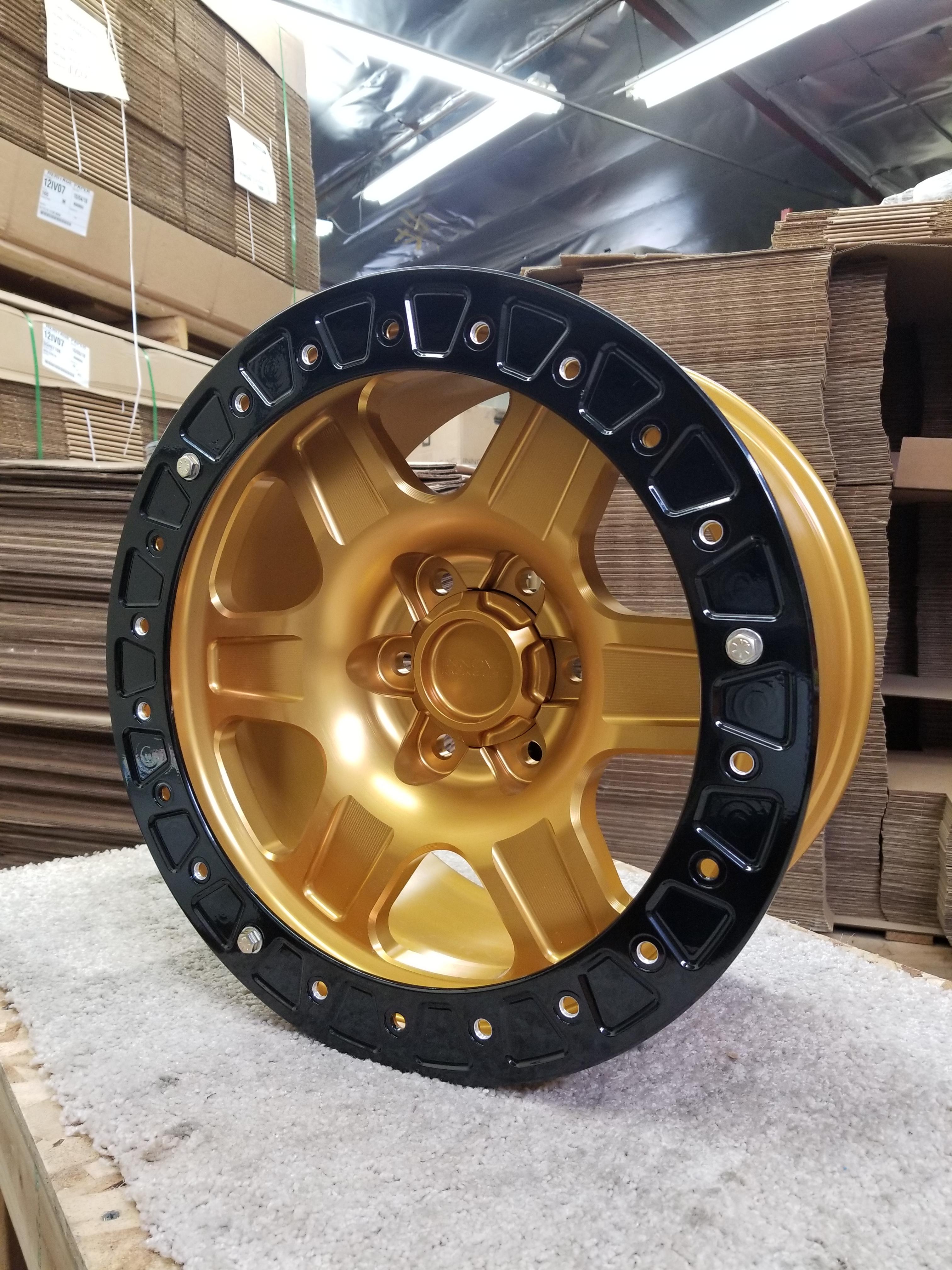 G400 Gold 17in Sim 6lug SL