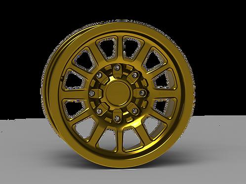 "G600 Smooth Lip NonBeadlock Wheel 17x8.5"""