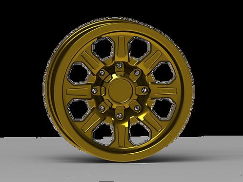 "G500 Smooth Lip NonBeadlock Wheel 17x8.5"""