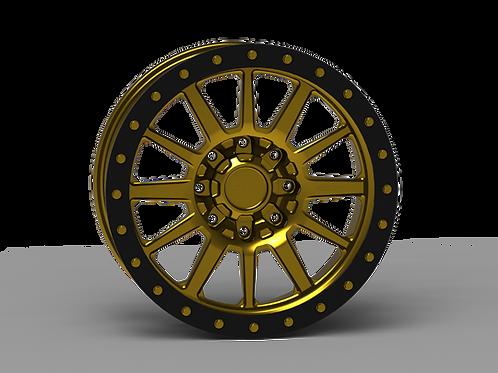 "G600 Simulated Beadlock Wheel 20x9.0"" 8 Lug"