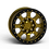 "Thumbnail: G500 Beadlock Wheel 17x9"" 8 Lug"