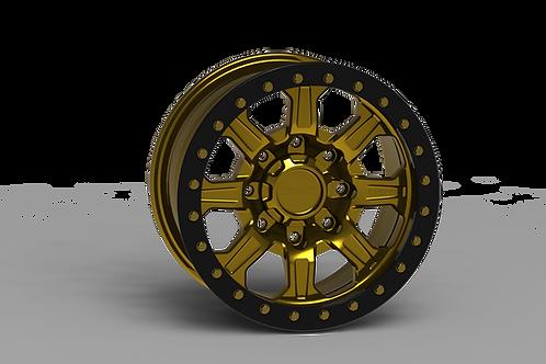 """G500 Beadlock Wheel 17x9"""" 8 Lug"""
