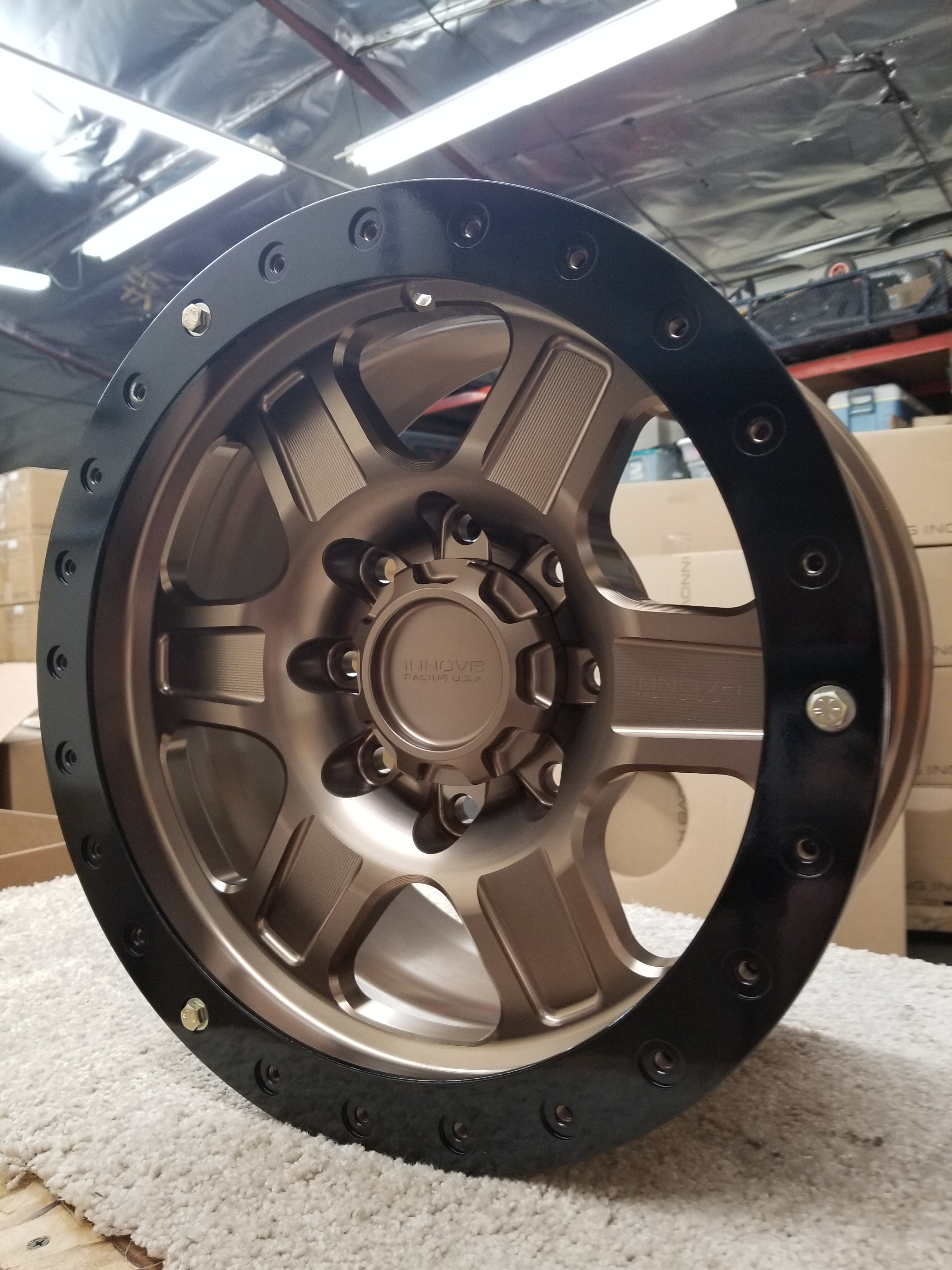 G400 Bronze 17in 8lug  simulated STD