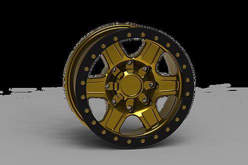 "G400 Simulated Beadlock Wheel 17x8.5"" 8 Lug"