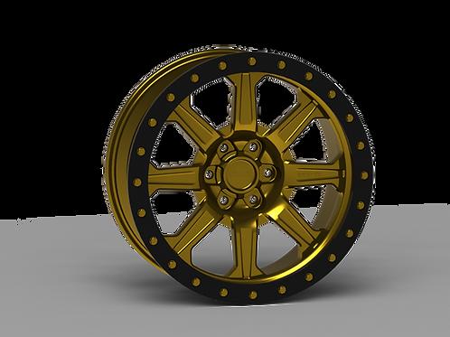 "G500 Simulated Beadlock Wheel 20x9.0"" 5&6 Lug"