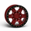 "Thumbnail: G400 Simulated Beadlock Wheel 17x8.5"" 8 Lug"