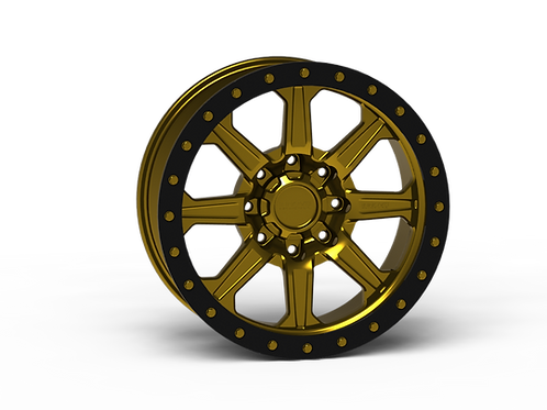 "G500 Simulated Beadlock Wheel 20x9.0"" 8 Lug"