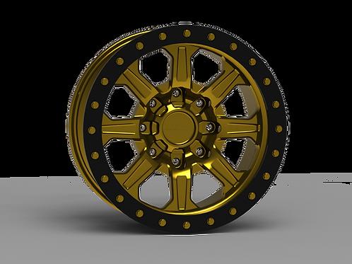 "G500 Simulated Beadlock Wheel 18x9.0"" 8 Lug"