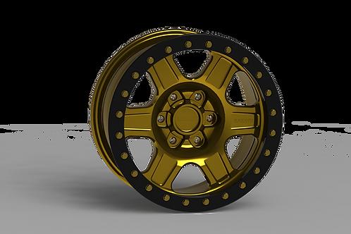 "G400 Simulated Beadlock Wheel 17x8.5"" 5&6 Lug"