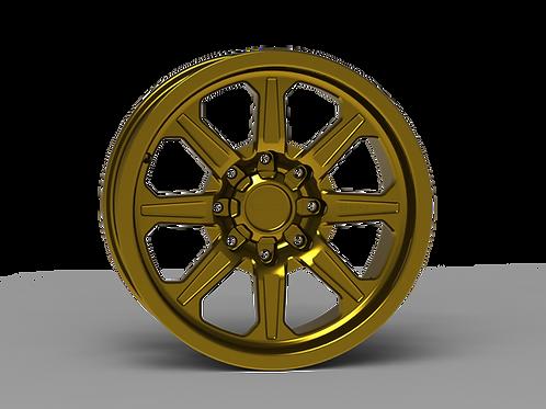 "G500 Smooth Lip NonBeadlock Wheel 20X9"""