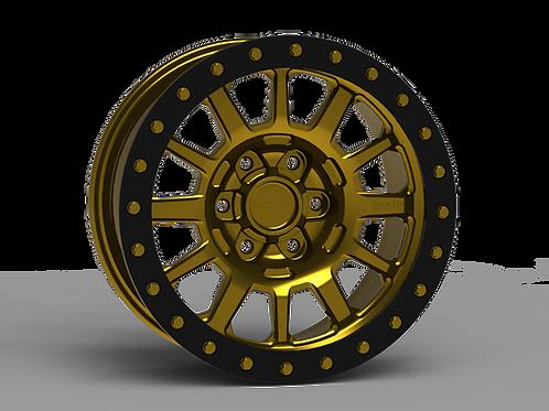 """G600 Beadlock Wheel 17x9"""" 5/6 Lug"""