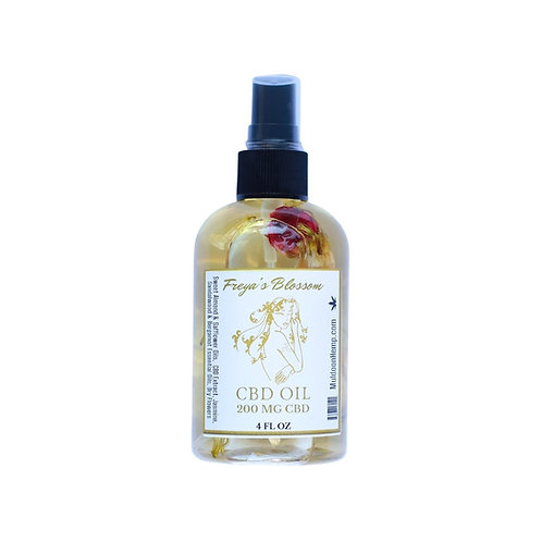 Body & Massage Oil - 200mg CBD