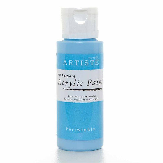 Akrylfärg - Periwinkle