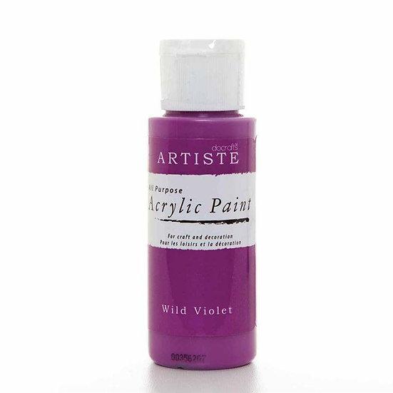 Akrylfärg -Wild Violet
