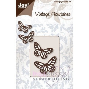 Vintage Flourishes - Butterflies