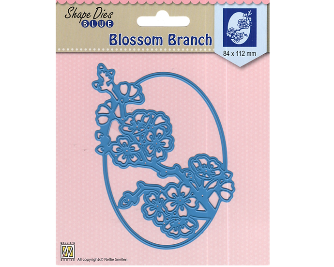 Shape Dies Blue – Blossom Branch