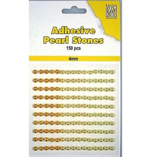 Adhesive Pearl Stones – Gul