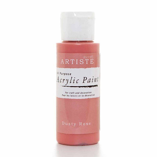 Akrylfärg - Dusty Rose