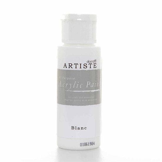 Akrylfärg - Blanc