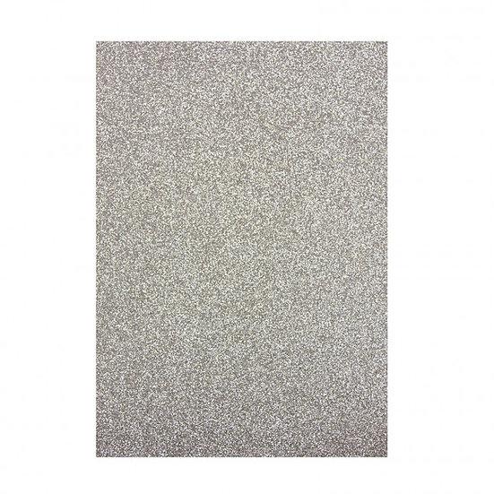 Glitter Papper - Silver Screen