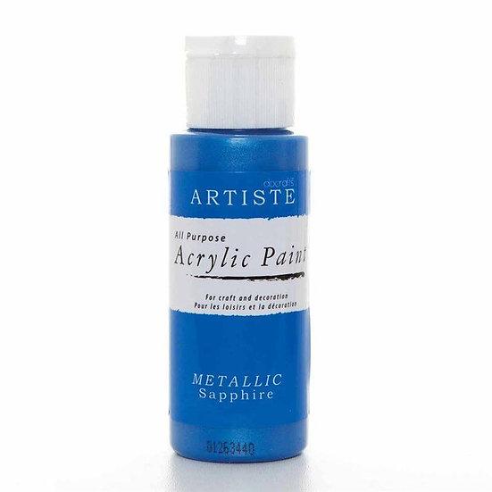 Akrylfärg - Metallic Sapphire