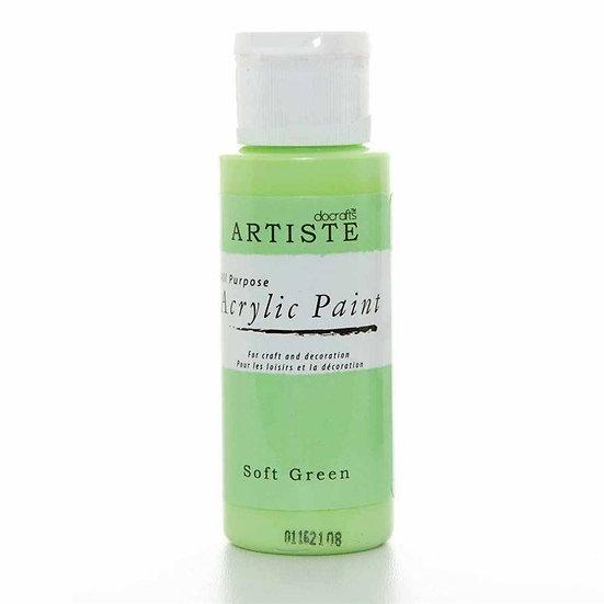 Akrylfärg - Soft Green