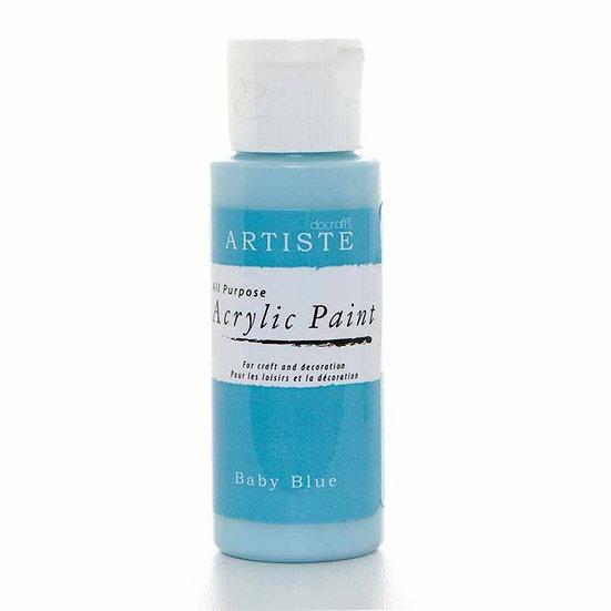 Akrylfärg - Baby Blue