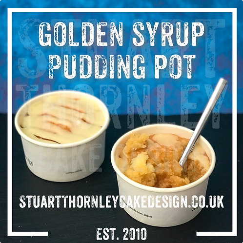 Golden Syrup Pudding Pot