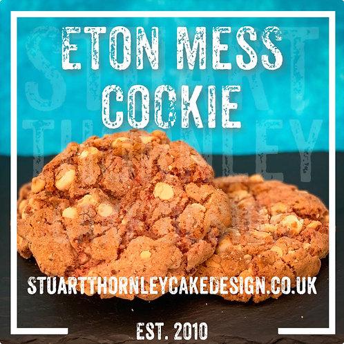 Eton Mess Cookie