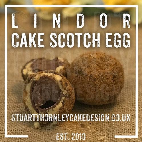 Lindor Cake Scotch Egg