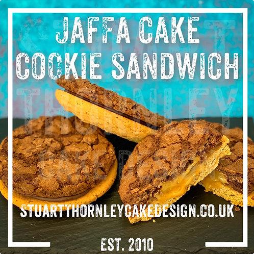 Jaffa Cake Cookie Sandwich