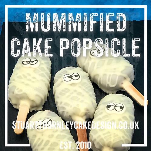Mummified Cake Popsicle