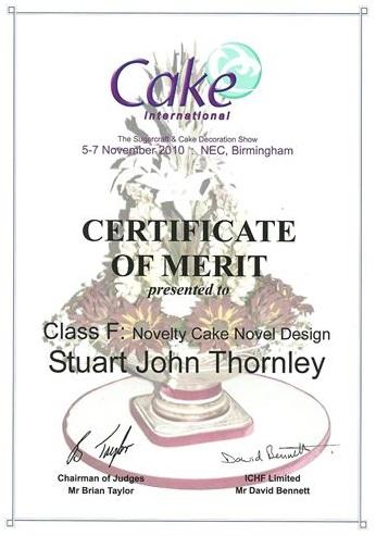 2010 Certificate 2