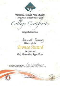 2009 Certificate 3