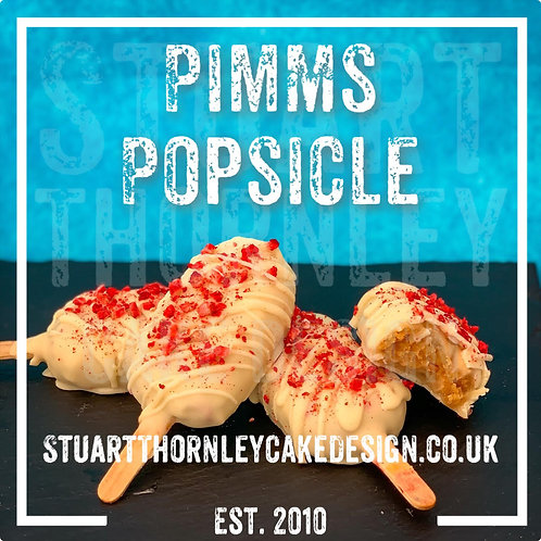Pimms Popsicle