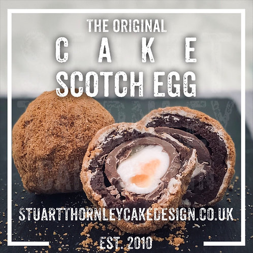 Cake Scotch Egg