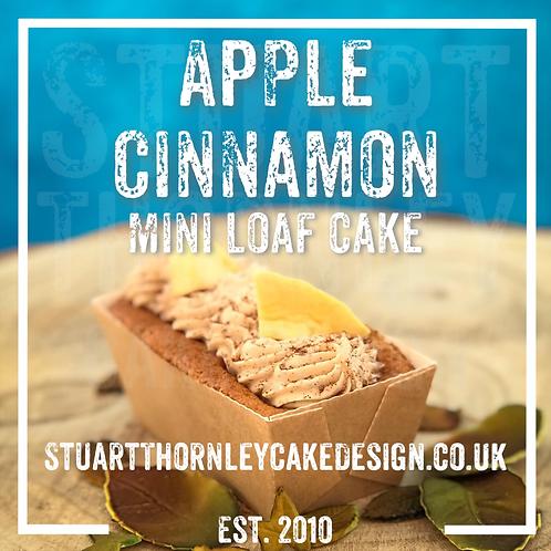 Apple Cinnamon Mini Loaf Cake