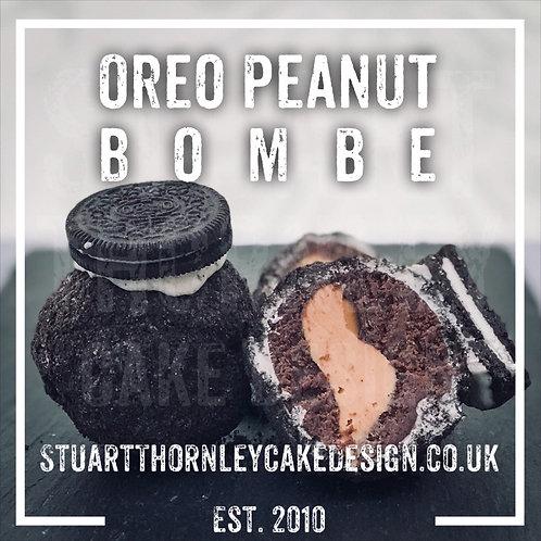 Oreo Peanut Bombe