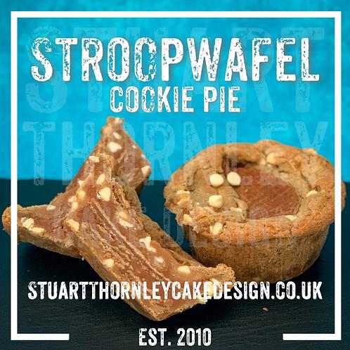 Stroopwafel Cookie Pie