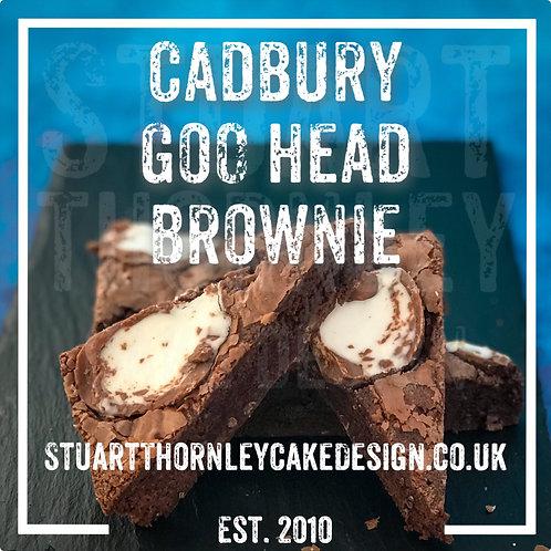 Cadbury Goo Head Brownie