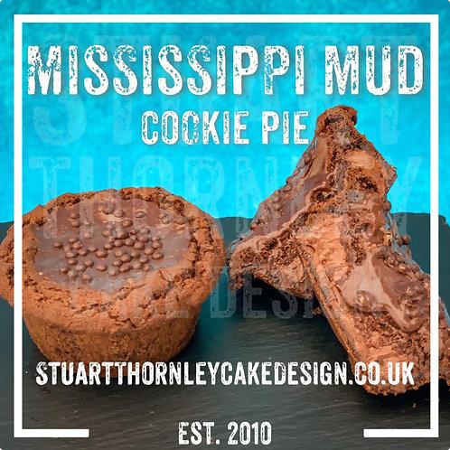 Mississippi Mud Cookie Pie