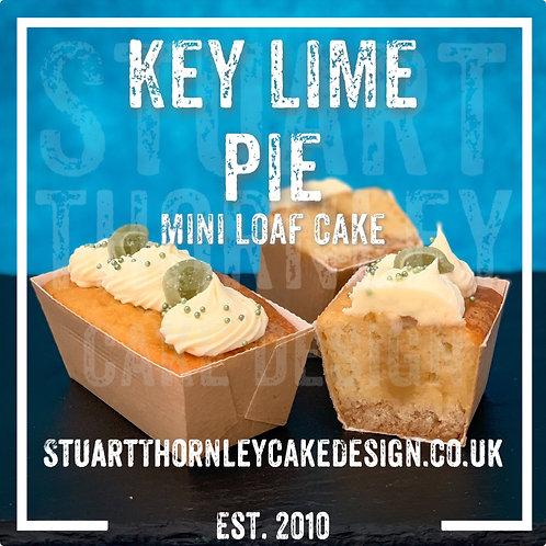 Key Lime Pie Mini Loaf Cake