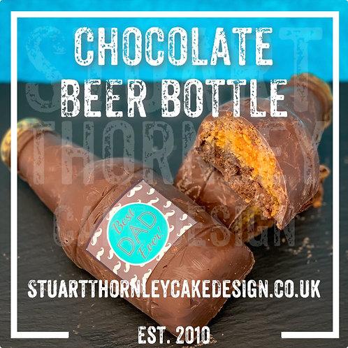 Chocolate Beer Bottle