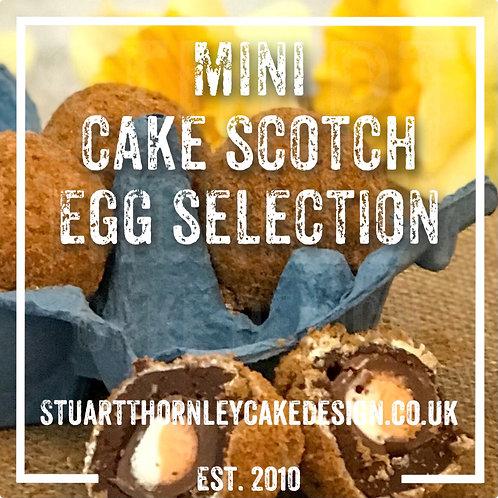 Mini Cake Scotch Egg Selection Box