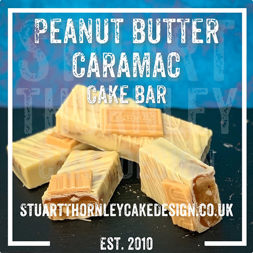 Peanut Butter Caramac Cake Bar