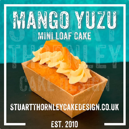 Mango Yuzu Mini Loaf Cake