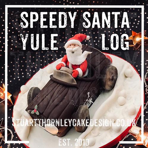 Speedy Santa Yule Log