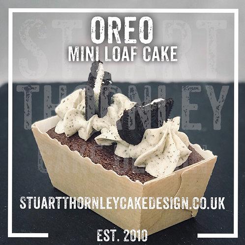 Oreo Mini Loaf Cake