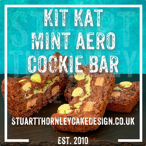Kit Kat Mint Aero Cookie Bar