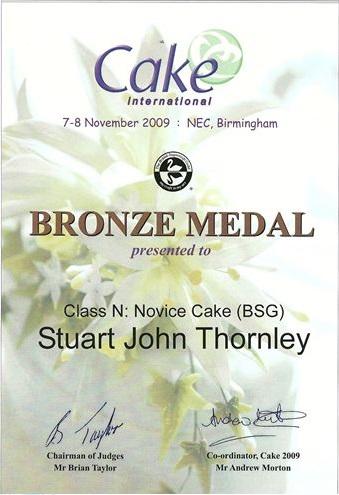 2009 Certificate
